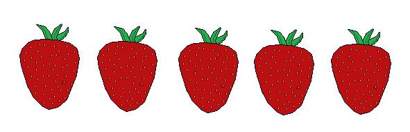 5 Strawberries