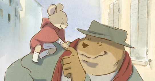 Ernest Celestine 2012 Film Review