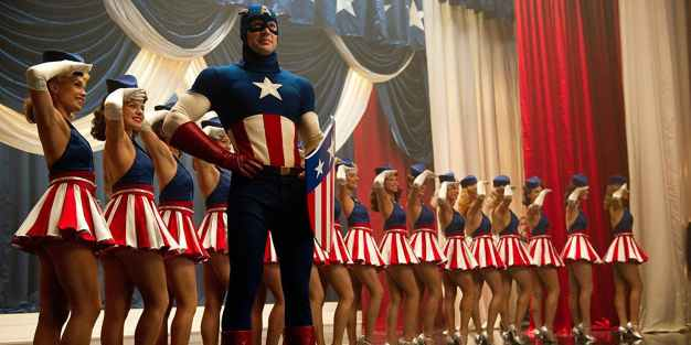 Captain America The First Avenger 2011 Film Review