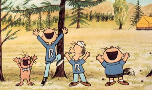 Race Charlie Brown Bullies