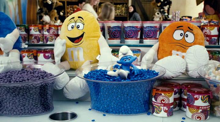 Smurfs Candy