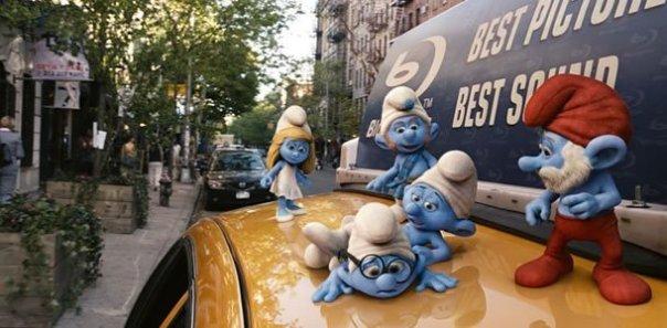 Smurfs Taxi