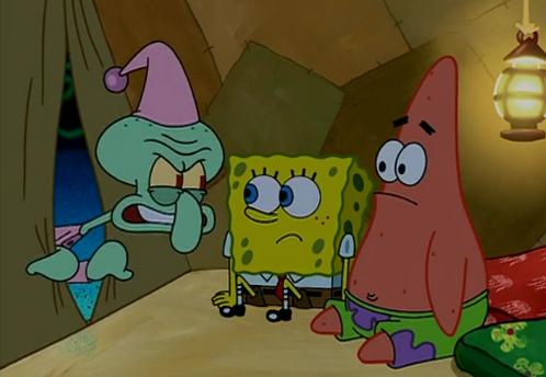 Sponge Camping 1